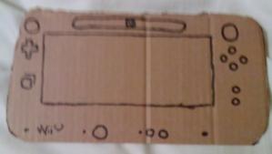 Cardboard WiiU